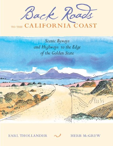 Used, Back Roads to the California Coast: Scenic Byways and for sale  Delivered anywhere in USA