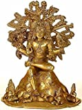 Aone India Dakshinamurti Shiva - Brass Statue + Cash Envelope (Pack Of 10)