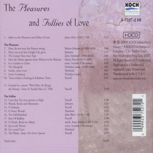 Pleasures & Follies of Love
