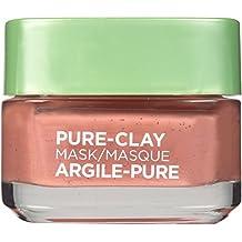L'Oréal Paris Pure Clay Mask Exfoliate And Refine Pores, 1.7 oz - Face Mask