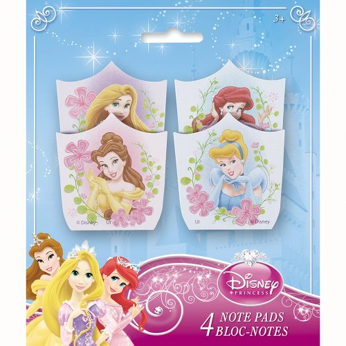 Disney Princess Notepad Party Favors, 4ct