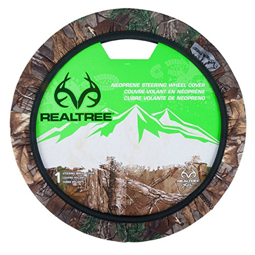 Car Truck Steering Wheel Cover (Realtree Xtra Neoprene Camo Steering Wheel Cover For Car, Truck or SUV (Sold Individually))
