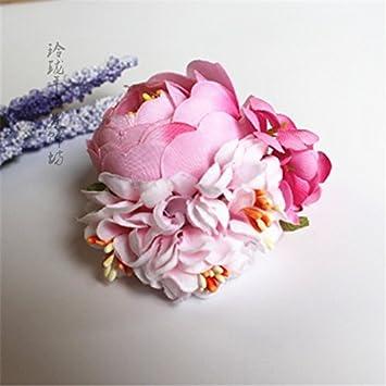Amazon exquisite handmade hair accessories square japanese exquisite handmade hair accessories square japanese style silk flower bridal hair jewelry hairpin mightylinksfo