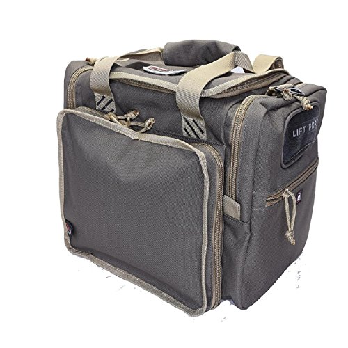 Magnum Range Bag (G.P.S. Large Range Bag, Rifle Green/Khaki, One Size)