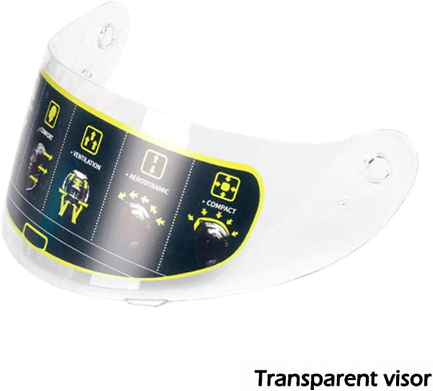 Mangen Full Face Helmet Motorcycle Helmet Shield Visor Black Spoiler
