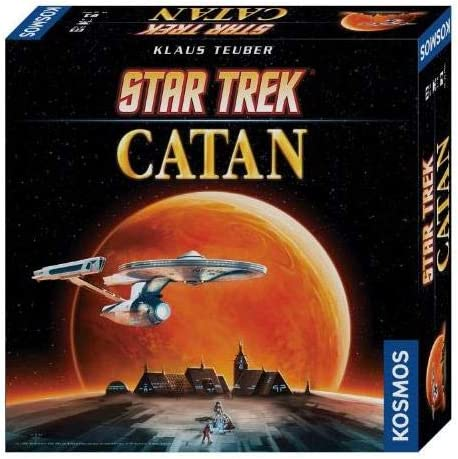KOSMOS 694814 - Star Trek Catán, Juego de Mesa (de 3 a 4 Jugadores ...