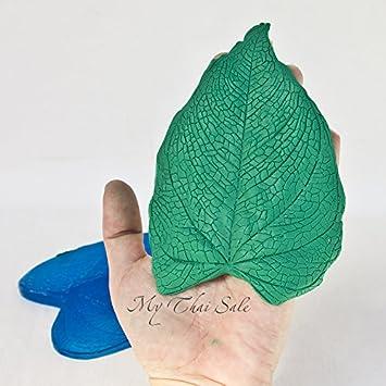 Solid vena sello hoja molde para arcilla y Eva Flores de Anthurium: Amazon.es: Juguetes y juegos