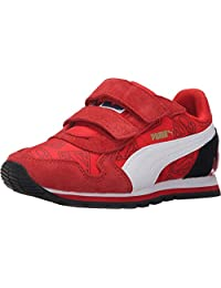 Puma Kid's Shoes St Runner Superman Hero Boy's Fashion Red Sneakers