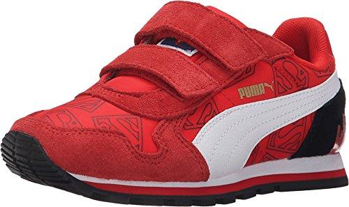 Runner Superman Hero Boy's Fashion Red Sneakers (2) ()