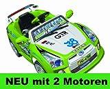 Elektro Kinderauto Elektroauto Sport Auto Wagen MP3 mit Fernbedienung (GRÜN)