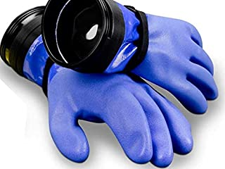 product image for DUI Zip Gloves Heavy Duty Dry Suit Gloves w/Wrist Dam and Liners