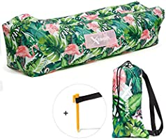 Amazon.com: Xtralix - Sofá hinchable para tumbona de aire ...