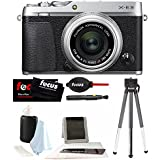 Fujifilm X-E3 Mirrorless Camera w/XF 23mm Lens (Black) & Focus Accessory Bundle