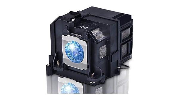 SunyPro - Lámpara de proyector para Epson ELP9: Amazon.es: Hogar