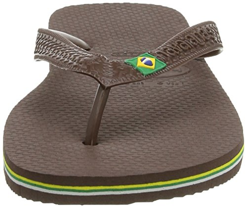 Marrón Dark para Chanclas 0727 Brown Unisex Brasil Havaianas Adulto wgOXUq