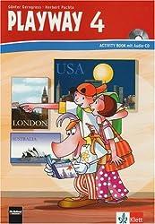 Playway. Für den Beginn ab Klasse 3 / Activity Book mit Audio-CD 4. Schuljahr - Neubearbeitung