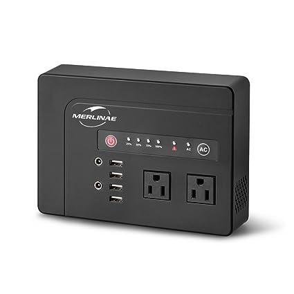 Amazon.com: Merlinae - Batería portátil 39600 mAh recargable ...