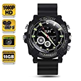 1080P HD Spy Camera Watch - Wearable Secret Video Camcorder Support Photo Taking