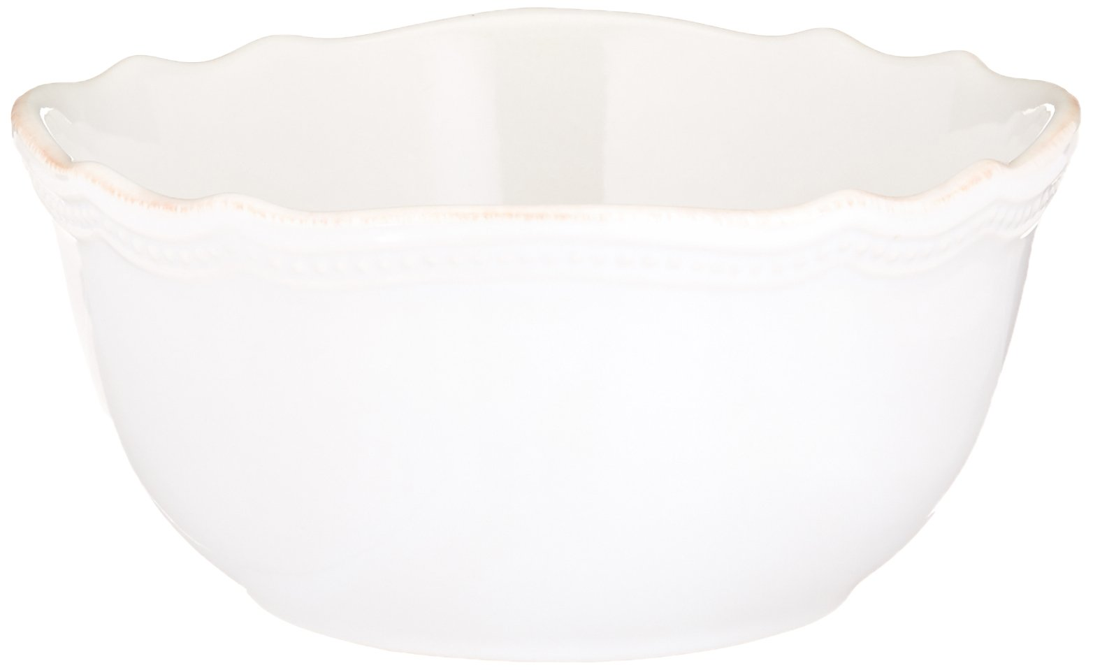 Lenox 4-Piece French Perle Bead Dinner Set, White by Lenox (Image #5)
