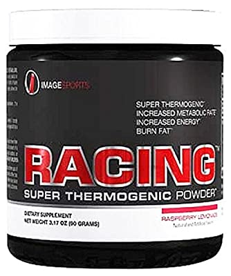 Image Sports - Racing Super Thermogenic Powder Raspberry Lemonade - 30 Serving(s)