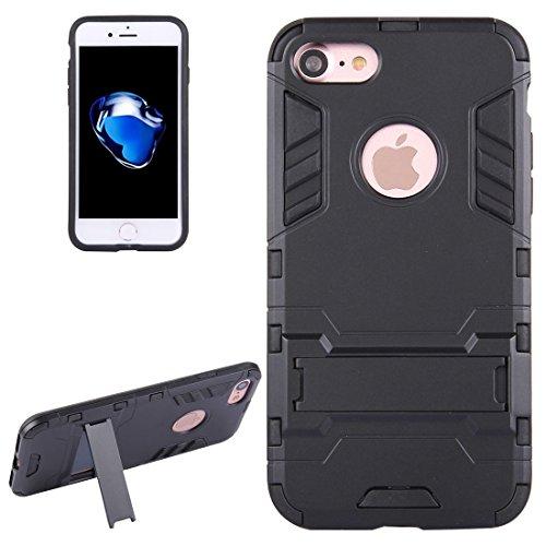 SANHENGMIAO US Se Aplica al iPhone para el chasis y el Soporte Desmontables de TPU + PC para iPhone 7 (Color : Oro Rosa)