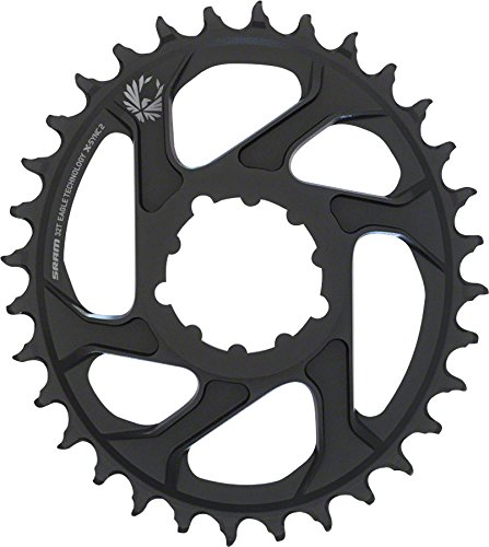 SRAM Eagle Chainring X-Sync 2 Oval 32T Direct Mount 3mm Offset Boost Black