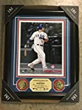 Josh Hamilton Texas Rangers Custom Framed Limited Edition #0032 Two 24kt Gold Plated Medallions & 8x10 Photo (The Highland Mint COA) Rangers Ballpark in Arlington