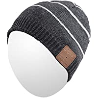 Qshell Mens Womens Outdoor Bluetooth Music Beanie Hat...