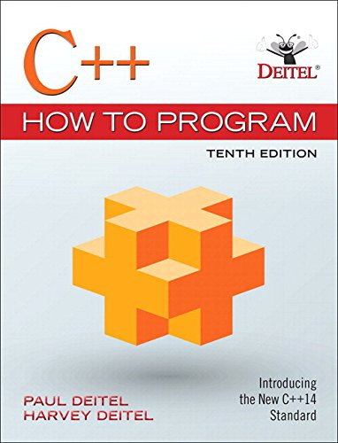 C++ How to Program Plus MyLab Programming with Pearson eText -- Access Card Package (10th Edition) by Pearson
