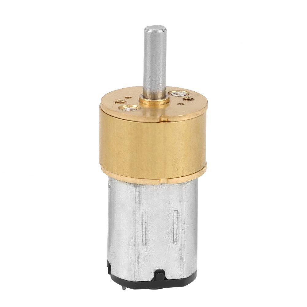 Hyuduo Micro réducteur Moteur à réduction de Vitesse Micro boîte de Vitesse en métal pour Jouet de Moteur DIY de Robot de Voiture RC 60 RPM / 100 RPM / 300 RPM / 600 RPM DC 6V (6VDC-60RPM)