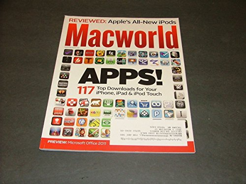 MacWorld November, 2010 117 Apps For iPhone, iPad, iTouch (Trojan Vibrator?) (Iphone Vibrator App Best)