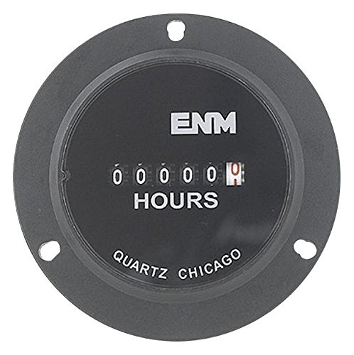 (Hour Meter, Electrical, 3-Hole, Flange)