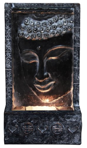 Buddha Lighted Wall Fountain