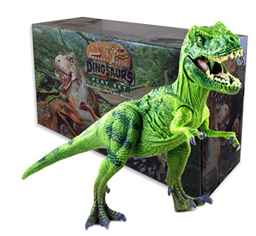 Tyrannosaurus Rex T Rex Dinosaur Action Figure Toys Movable Arms Legs Tail Jaws Exquisite Detail by (T-rex Toy)