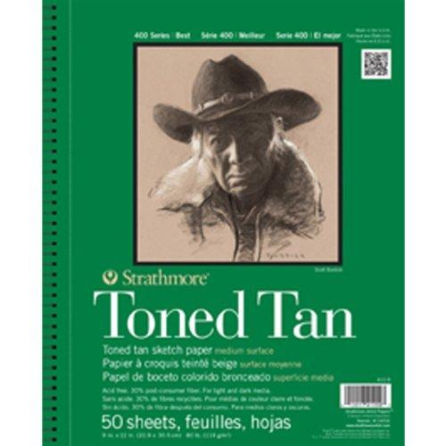 Strathmore 400 Series Toned Tan Sketch Pad, 9