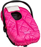 Cozy Cover Premium Collection - Infant Car Seat Cover with Polar Fleece Outer Shell for Added Warmth in Winter (Pink)
