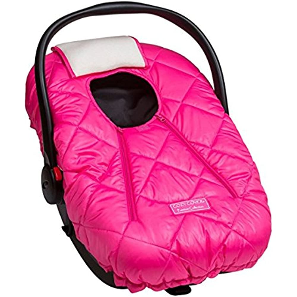 cc1acd08591 Cozy Cover Premium Infant Car Seat Cover (Pink) with Polar Fleece - The  Industry Leading Infant Carrier Cover Trusted by Over 5.5 Million Moms for  Keeping ...