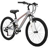 Diamondback Bicycles 2015 Octane 24 Complete Hard Tail Mountain Bike, 24-Inch Wheels/One Size, Silver