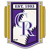 MLB Colorado Rockies 15392115 Collector Pin Jewelry Card