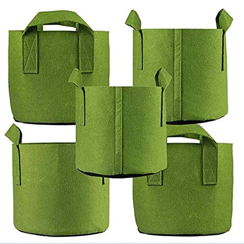 Ming Wei Grow Bags (20 Gallon, Army Green)