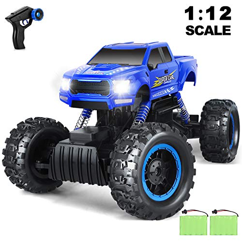 AOKESI RC Cars 1:12 Remote Control Monster Truck 4WD Dual