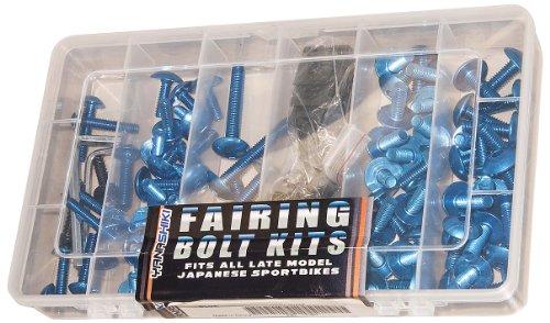 Yana Shiki (FBK-10K) Black Fairing Bolt Kit
