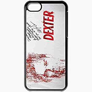 diy phone casePersonalized iphone 4/4s Cell phone Case/Cover Skin Dexter season movies tv series Blackdiy phone case