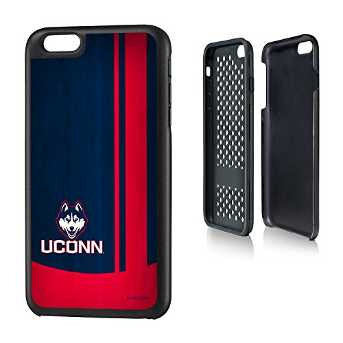 (Connecticut Huskies iPhone 6 Plus & iPhone 6s Plus Rugged Case officially licensed by the University of Connecticut for the Apple iPhone 6 Plus by keyscaper® Durable Two Layer Protection Shock Absorbing)