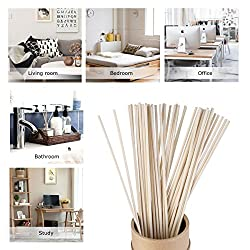 50 Pcs Rattan Reeds Home Fragrance Diffuser Oil Refill Sticks Free shipping