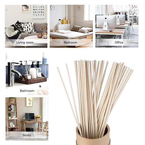 50 Pcs Rattan Reeds Home Fragrance Diffuser Oil Refill Sticks Free shipping (Wicker Furniture Ikea)