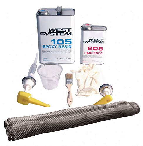 Quarter-Max Carbon Fiber Repair Kit