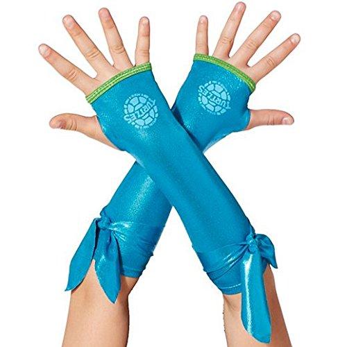 [Gloves Costume Accessory Hand Accessories Halloween Kids Metallic Leonardo Arm Warmers Teenage] (Good Teenage Girl Halloween Costumes)