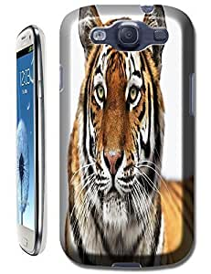 Tiger Case Cover Hard Back Cases Beautiful Nice Cute Animal hot selling cell phone cases for Samsung Galaxy S3 # 10 hjbrhga1544