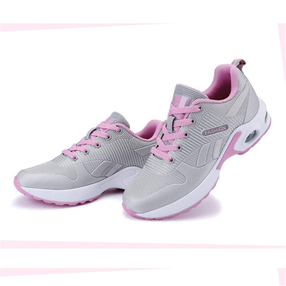 MODEOK Womens Hiking Shoes Leather Trekking Backpacking Shoes Sneakers for Women Outdoor Walking Running